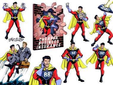 Super-Hero Mascot