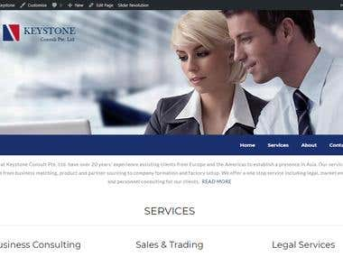 Keystone – Website