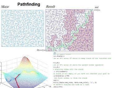Robot Traversal, PathFinding
