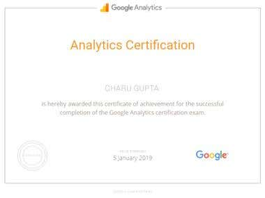 Google Analytic Certifications