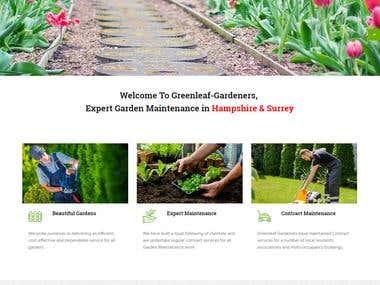 Gardener Website