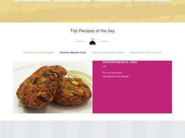 Food Listing Site , http://evergreenfrozenfood.com/
