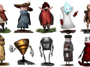 Concept art for Minion Mania