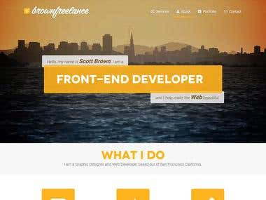 Brown Freelance Design