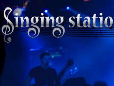logo design singing station