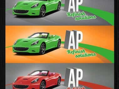 Branding and packaging for AP refinish solutions