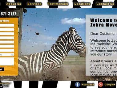 Zebra Movers Inc.