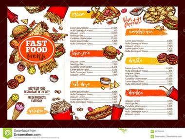 Restaurant Brochures