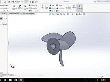 SolidWorks/AutoCAD/3D design Projects