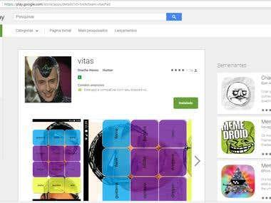 Aplicativo Mobile Vitas