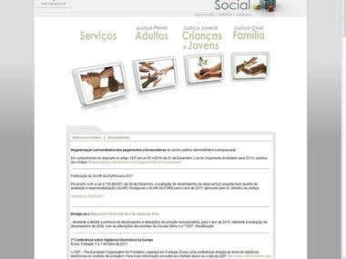 Liferay organization web site