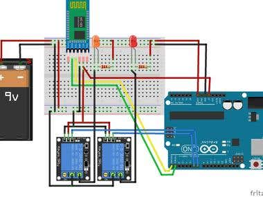 Arduino Bluetooth Control Via Mobile App
