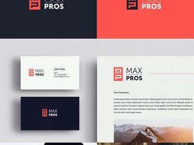 Maxpros logo for design contest