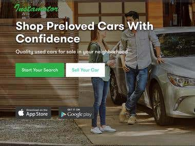 Instamotor: Used Cars for Sale Mobile App Development