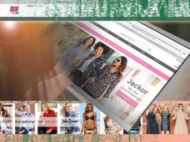 Magento Shooping Website
