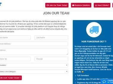 Service finder site