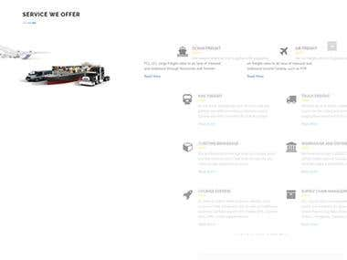 Logistic Website