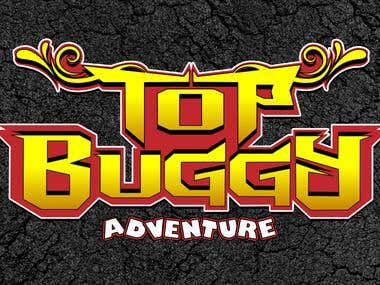 "LOGO-TEXT ""TOP BUGGY ADVENTURE"" TENERIFE - SPAIN"