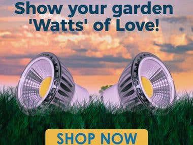 gardening bulb banner