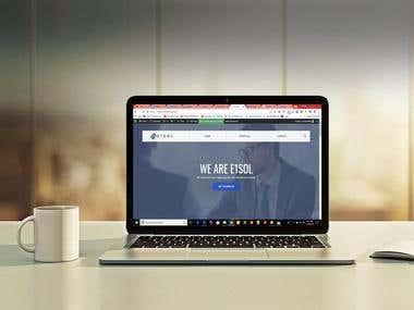 E1Sol Website Design and Development