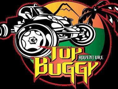"LOGO ""TOP BUGGY ADVENTURE"" TENERIFE -SPAIN"