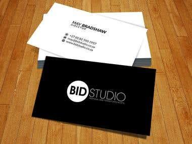 Bid Studio Corporate ID/ Logo Design