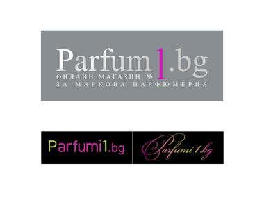 Logo design for parfum1.bg