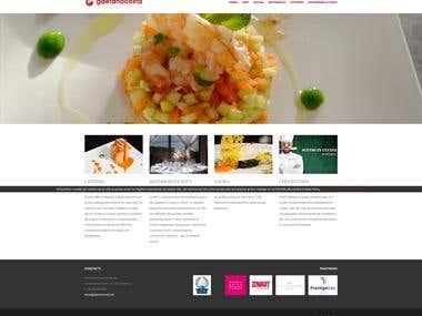 Web Design - Gaetano Costa Chef.