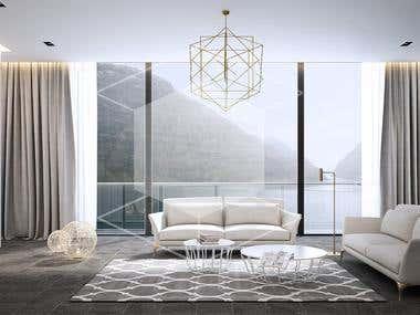 Lake house - Architectural visualization