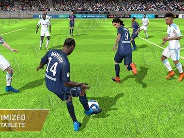 Football Unity3D Game Project