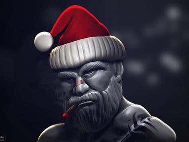 Dirty Santa 3d Sculpt