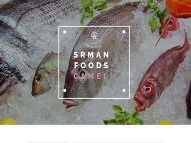 Srman Food is a fish marketing Website