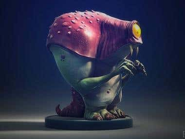 CreatureBox 3d sculpt