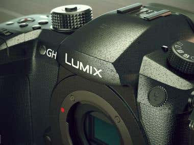 Panasonic Lumix GH5 Camera 3d model