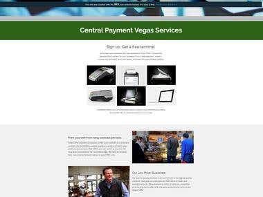 Web Design - Central Payment Vegas 2