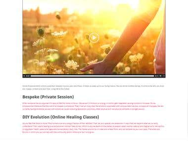 Website for energy healing