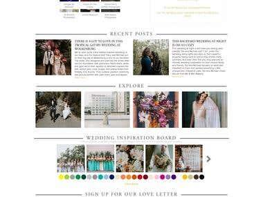 Wedding Information Website