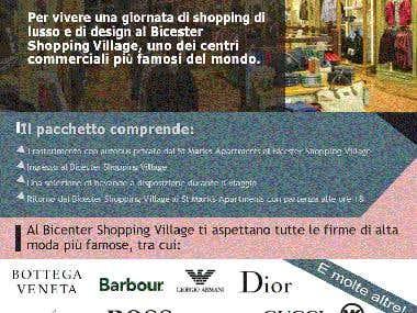 Promotional leaflet - Translation English/Italian