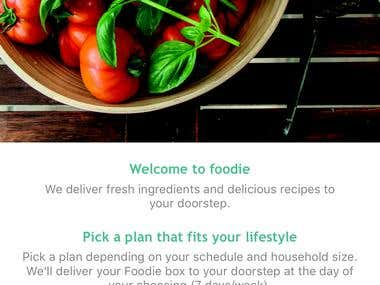 Foodie - Food Delivery App