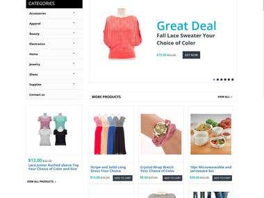 Ecommerce Store Site