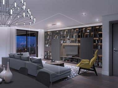 Appartment in Italy - Architectural visualization