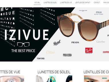 Izivue The Sunglasses Website