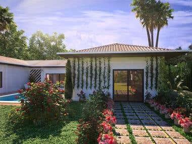 House exterior 3D design