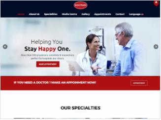 London Hospital Website