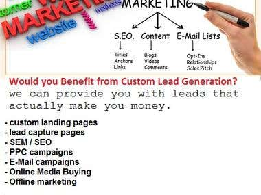 Custom Lead Generation