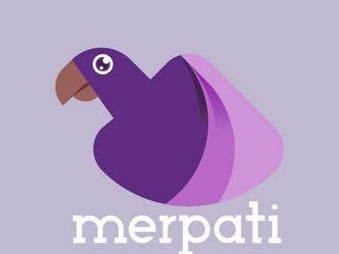 merpati logo