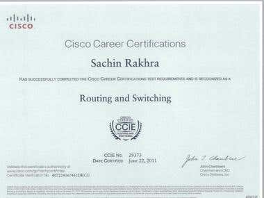 Cisco Certified Internetwork Expert ( CCIE )