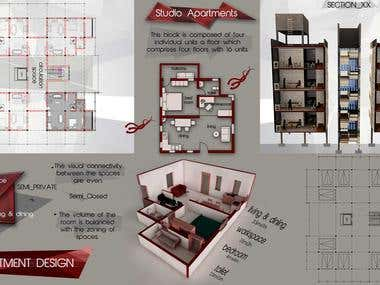 Architecture Design - Apartment project