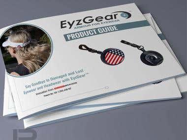 Eyzgear brochure design