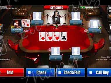 Pocker Unity3D Game